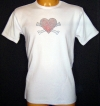 BoneHeart Crystal Men Shirt